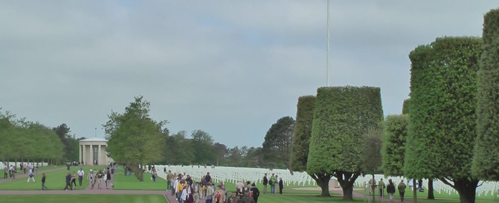 Partial view of American Cemetery